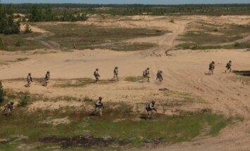 Vērienīga Ādažu poligona paplašināšana: teritorija pieaugs par 5,6 tūkstošiem hektāru
