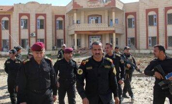 Irākas armija padzen džihādistus no Šarkātas