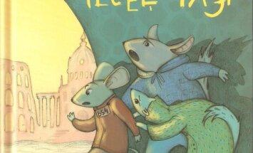 Bērnu grāmatas 'Pagrīdes ieceļotāji' autori piedāvā izspēlēt īpašās bada spēles Romā