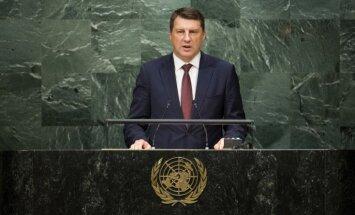 За полгода новый президент Латвии посетил десять стран