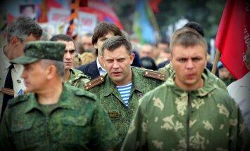 Donbasa teroristu līderis apsūdz Kijevu atentāta gatavošanā