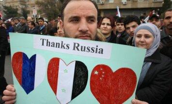 ASV nosoda Krievijas ieroču piegādes Sīrijai