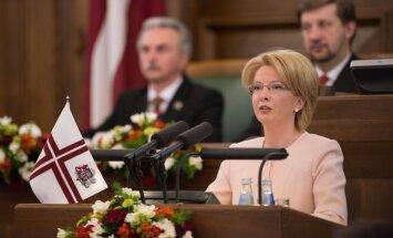 Спикер Сейма объяснила, почему Латвии не грозит финансовый кризис