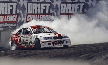 Kristaps Blušs autošosejas sacensību pasākumā Biķerniekos uzstādīs drifta ātruma rekordu