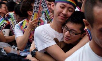 Taivānas konstitucionālā tiesa atbalsta viendzimuma laulības