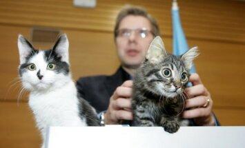 'Melnajā sarakstā' būtu jāiekļauj Kuklačovs un viņa kaķi, pauž Ušakovs