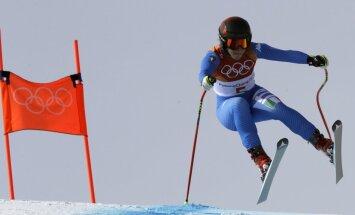 Olimpiskajās nobrauciena sacensībās pirmo reizi uzvar Itālijas sportiste