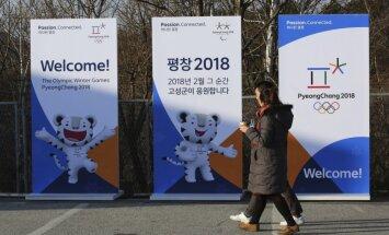 SOK apstiprina Ziemeļkorejas sportistu dalību olimpiskajās spēlēs