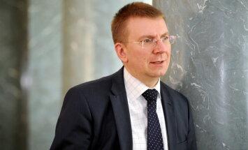 ES nebūs viegli saskaņot plānus cīņai pret Krievijas propagandu, norādījis Rinkēvičs