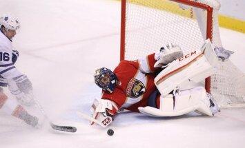 Luongo kļūst par piekto uzvarām bagātāko NHL vārtsargu