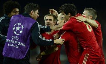 'Bayern' vēlreiz pazemo 'Barcelona' un nodrošina Čempionu līgā 'Vācijas finālu'