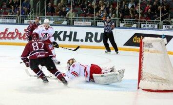 Rīgas 'Dinamo' sezonas pēdējo izbraukumu turpina ar zaudējumu Jekaterinburgā