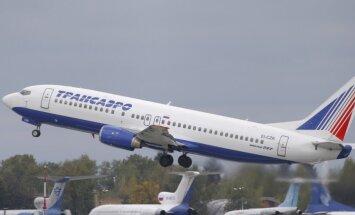 Ukraina aizliedz Krievijas aviokompāniju tranzīta lidojumus savā gaisa telpā