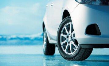 Nav sliktu gadalaiku, ja auto ir piemērotas riepas
