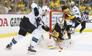 Pitsburgas 'Penguins' sper otru uzvaras soli pretim Stenlija kausam