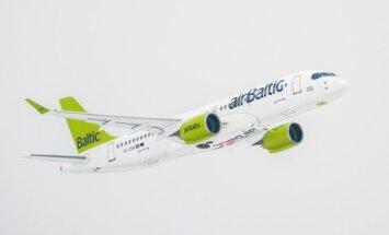 Рейс airBaltic в Париж на новом самолете CS300 не совершил посадку из-за тумана