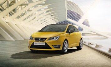 Atjauninātā 'SEAT Ibiza' sportiskā versija 'Cupra'
