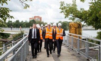 Fotoreportāža: ASV vēstnieks iepazīstas ar AS 'Latvijas Dzelzceļš' darbu