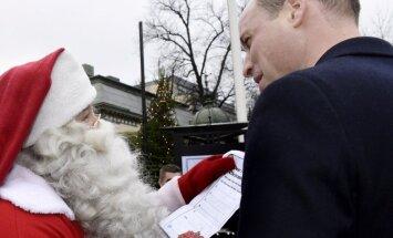 Стало известно, что попросил у Санта-Клауса принц Джордж