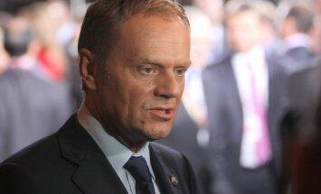 Tusks: Eiropai ir jābūt gatavai pašam negatīvākajam scenārijam Ukrainā