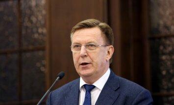 Кучинскис: Латвия не поддерживает и не поддержит выражение недоверия Рубесе