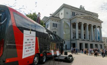'Lux Express' jaunu autobusu iegādē investē septiņus miljonus eiro