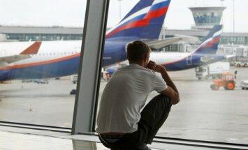 Krievijas lielākā privātā aviokompānija piesaka maksātnespēju