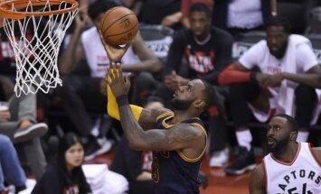 'Cavaliers' izslēgšanas spēles turpina perfekti un sasniedz konferences finālu