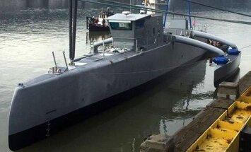 Foto: Pentagona zinātnieki atrāda nākotnes karakuģi