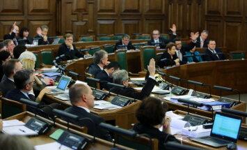 Депутатам Сейма компенсированы 130 000 евро за транспорт и жилье