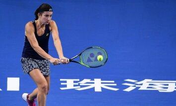 Севастова на альтернативном итоговом турнире WTA остановилась в полуфинале