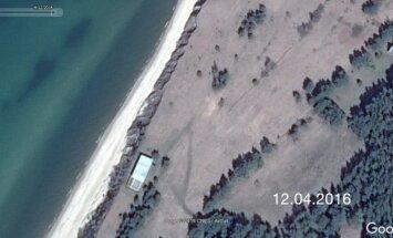 VZD: mērnieka fiksētās 'mājas – kuģa' koordinātas atrodas uz valsts zemes