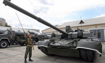Ukrainas armija trīs gados saņēmusi 16 000 kara tehnikas un bruņojuma vienību