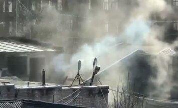 Video: Rīgas centrā no skursteņa kūp dīvaini dūmi
