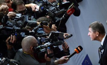 Babišs aicina ES pieņemt plānu nelegālās imigrācijas apturēšanai