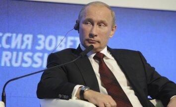 Putins kā pirmais piesakās kandidēt Krievijas prezidenta vēlēšanās