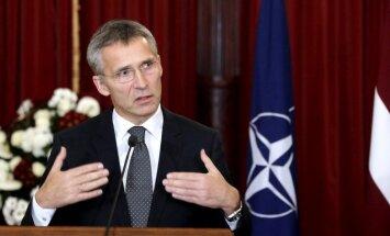 Krievija neapdraud nevienu NATO dalībvalsti, pārliecināts Stoltenbergs