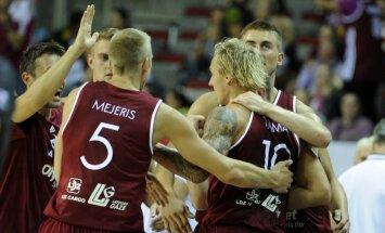 Сборная Латвии на старте отбора на Олимпиаду в Рио разгромила японцев