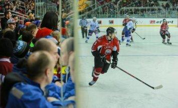 Latvijas izlasē otrajā spēlē pret Franciju debitēs divi hokejisti