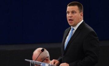 Igaunijas iedzīvotājiem nebūtu jājūtas apdraudētiem spriedzes dēļ starp Krieviju un ASV, uzsver Ratass