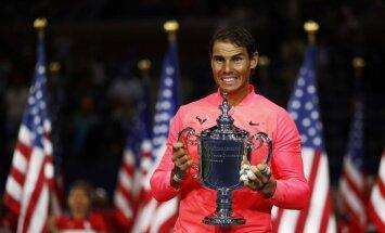 """Рафаэль Надаль — трехкратный чемпион US Open, до Федерера — еще три """"Шлема"""""""