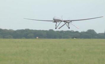 Latvijā izvietotas divas ASV armijas bezpilota lidmašīnas