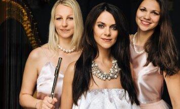 Elīna Šimkus un 'Trio Angelicus' Dzintaru koncertzāles Ziemassvētku festivālā