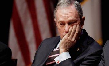 Blūmbergs nekandidēs ASV prezidenta vēlēšanās
