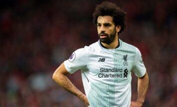 Ēģiptes futbola izlases līderis Salāhs saņēmis Čečenijas goda pilsoņa titulu