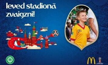 Reģistrācija akcijai 'Ieved stadionā zvaigzni!' vēl tikai līdz 1. aprīlim