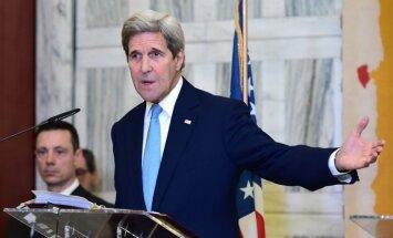 Kerijs: trīs nedēļās nogalināti vairāk nekā 600 'Daesh' kaujinieku