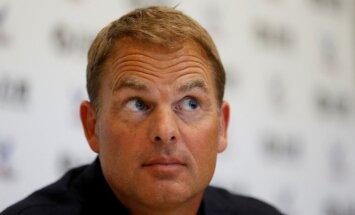 De Būrs kļuvis par 'Crystal Palace' galveno treneri
