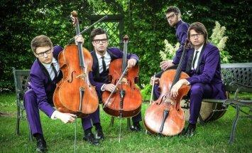 Čellu trio 'Melo-M' Vecgada lielkoncertā pirmatskaņos jaunu mūzikas programmu