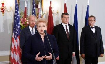 Лидеры стран Балтии заверили Байдена, что готовы защищать общие ценности
